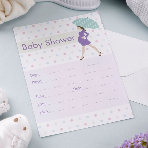 Showered With Love Invitations (10)